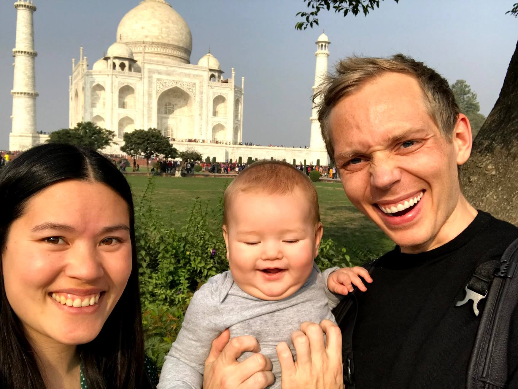 From digital nomad to parent